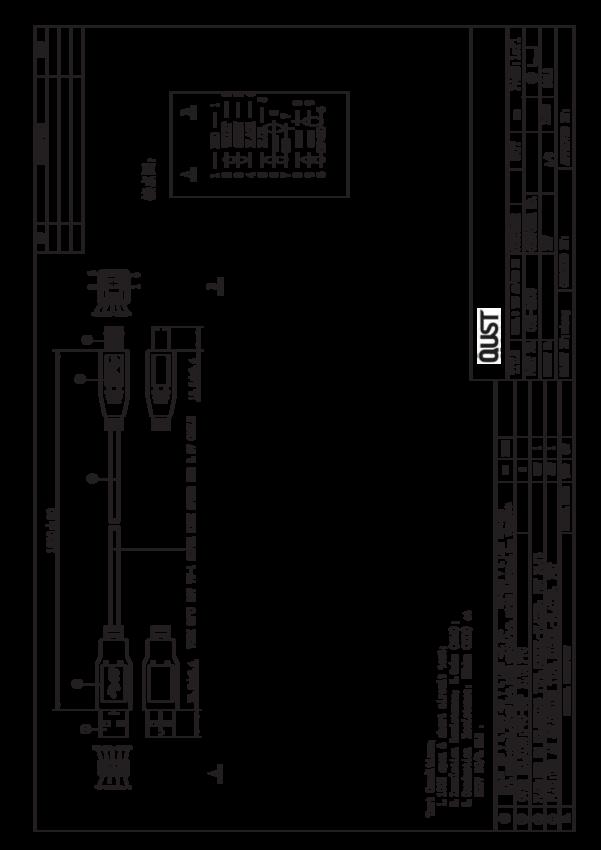 kabel   zako u0144czony wtykami  24awg   28awg  1 8mb